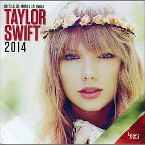 2014 Wall Calendar of Taylor Swift