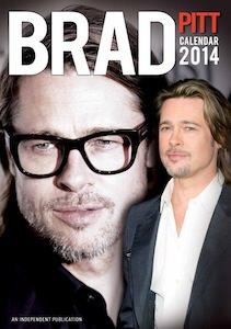 Brad Pitt Calendar 2014