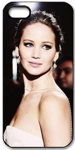 Jennifer Lawrence Portrait iPhone 5 Case
