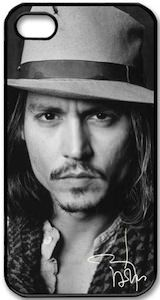 Johnny Depp iPhone 5 Case