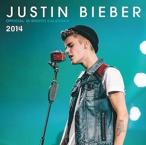 Justin Bieber 2014 Wall Calendar