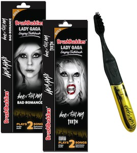 Lady Gaga Singing Toothbrush