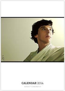 Benedict Cumberbatch 2014 calendar